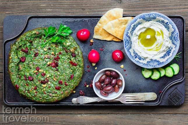 Persian Herb Frittata Kuku Sabzi