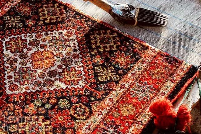 Persian carpet- Termeh Travel