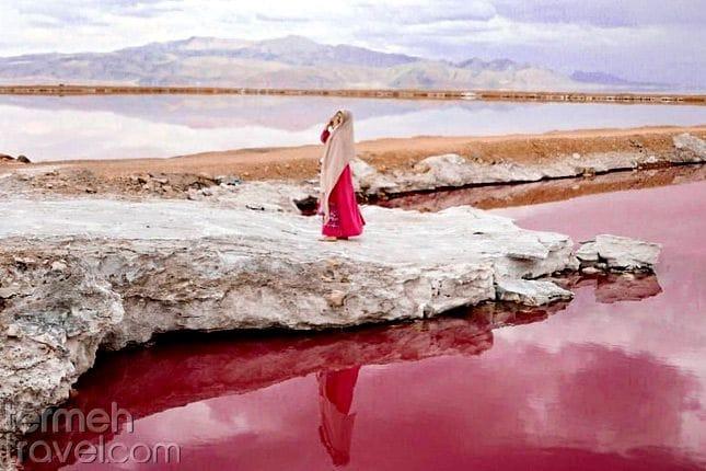 Maharloo Lake in Shiraz- Termeh Travel