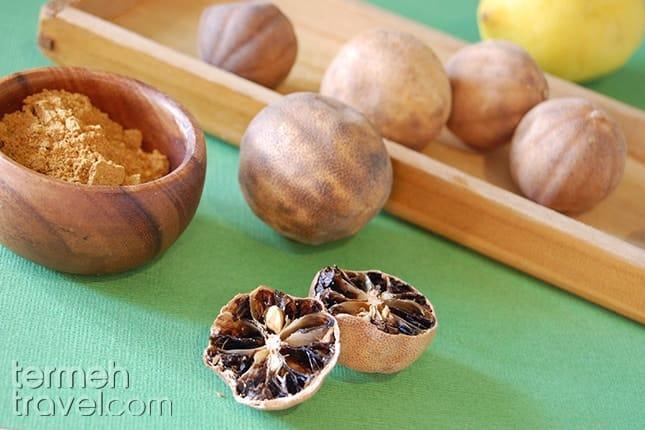 Dried Lime Powder-Termeh Travel