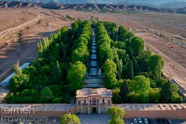 Persian Garden- Termeh Travel